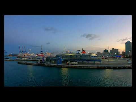 Port of Genoa, Italy.