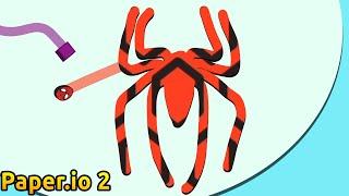 Paper.io 2 INSTANT WIN! SPIDERMAN SECRET Superhero HACK!