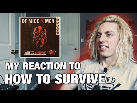 Metal Drummer Reacts: How To Survive by Of Mice & Men