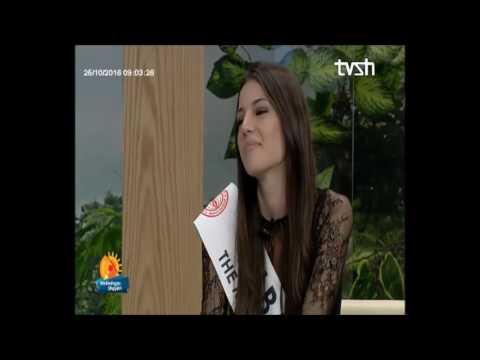 """""""Mirëmëngjes Shqipëri"""" - Petri Bozo sjell sërish """"Miss Globe"""" në Shqipëri """"25 Tetor 2016"""""""
