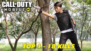 TOP 1 18 KILLS của CrisDevilGamer trong CALL OF DUTY: MOBILE VN