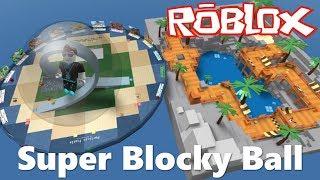 ROBLOX [FR] - Des Courses Folles Dans Des Sphères - Super Blocky Ball