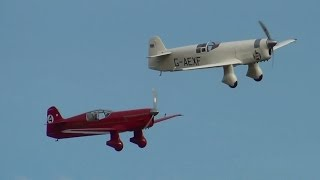 RV7 and Mew Gulls at Old Warden 5th October 2014