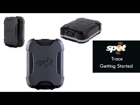 Spot Trace GPS Tracker - Getting Started