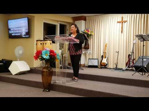 Senior Pastor Gail Kamakahi