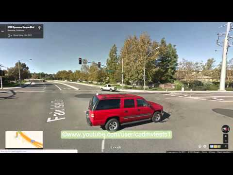 Riverside east, California Behind the wheel test route #2