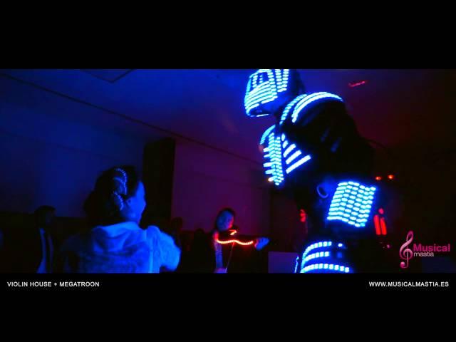 Violin House + Megatroon SORPRESA PARA EL NOVIO violin electronico Porton de la Condesa