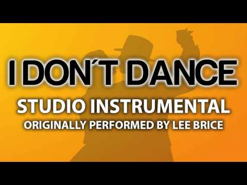 I Don't Dance (Cover Instrumental) [In The Style Of Lee Brice]