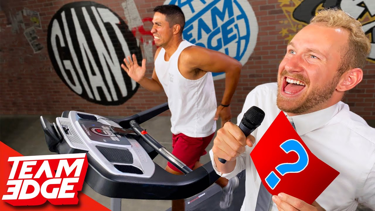 Answer Wrong and Run Faster!! Last to Survive the Treadmill Wins! | Extreme Trivia Challenge!