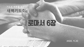 부산영락교회 20200920 새벽기도회 설교_로마서6장