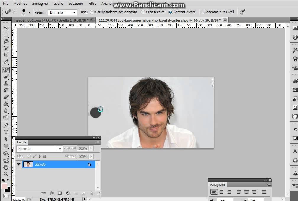 Come Togliere Scritte Ad Immagini Con Photoshop Youtube