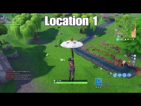 14 Days Of Fortnite Challenges Search Waterside Goose Nests