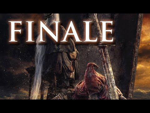 Let's Play Dark Souls 3: The Ringed City (FINALE) - Smile Because It Happened