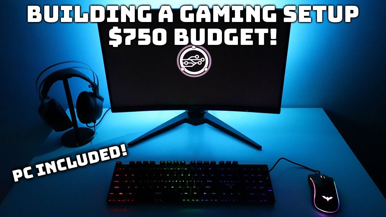 Building My $750 Budget Gaming Setup! (PC INCLUDED) | Budget Builds Ep.8