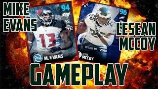 How good are 94 LeSean McCoy and 93 Mike Evans?!? - Madden Ultimate Team 17