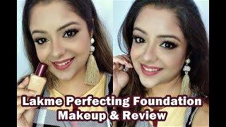 Lakme Perfecting Foundation Makeup Tutorial | Nawabzade Tere Naal Nachna Musically