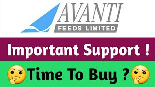 Avanti Feeds | Support Level को जानलो ! Buy Now ?