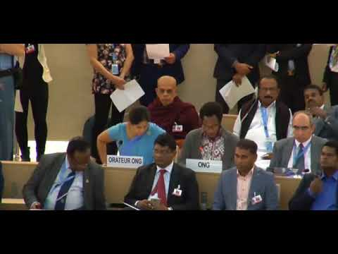 36th Session Human Rights Council - General Debate Item 9 - Mr. Mutua K. Kobia