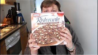 Schokoladen-Pizza? | Schmeckt sie? - Meine Meinung