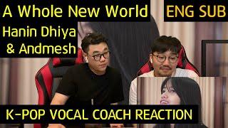 Download lagu K pop Vocal Coach reacts to A Whole New World Hanin Dhiya Andmesh