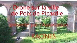 Drone sur la ville de Poix de Picardie