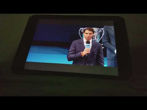 Rafa Nadal year end world number 1 ceremony 2017