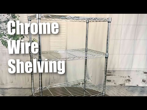 "Sandusky WS241430 Chrome 3 Shelf Wire Shelving (24"" Width x 30"" Height x 14"" Depth) review"