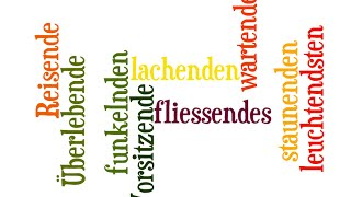 Урок 46: Partizip I, Partizip II. Причастия и деепричастия в немецком языке.