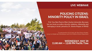 Policing Citizens: Minority Policy in Israel – Webinar