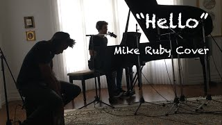 AdeleHelloMike Ruby piano cover