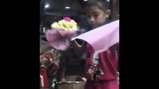 Youngest bouquet gurl in dangwa