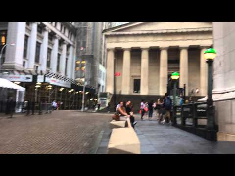 The New York Stock Exchange – Wall St – New York City New York