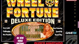 Wheel of Fortune: Deluxe Edition (Super Nintendo)