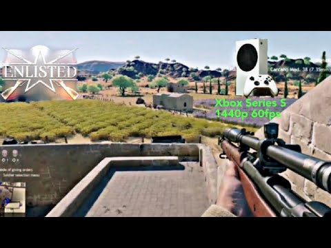 Download Enlisted Gameplay [ITA] - Al Jabal - Battle of Tunisia - Xbox S S [1440p 60FPS] (No Commentary)