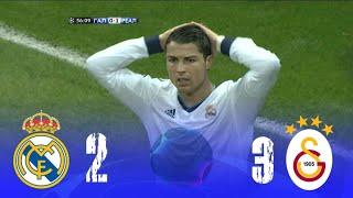 من الذاكرة : غلطه سراى 3-2 ريال مدريد /إياب ربع النهائى /موسم2012-2013/حفيظ دراجى /جودة عالية جدا