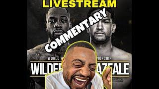 WILDER VS BREZEALE - LIVE COMMENTARY ONLY