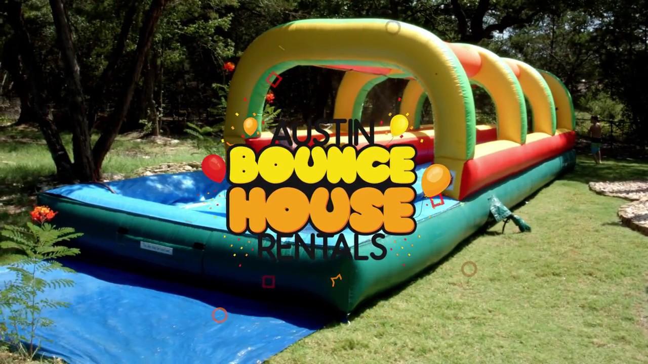 austin bounce house rentals slip n slide rentals in austin texas