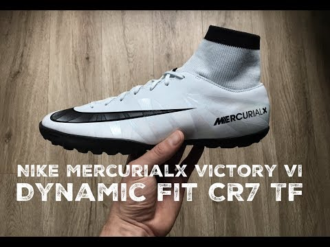 Nike MercurialX Victory VI Dynamic Fit CR7 TF | UNBOXING & ON FEET | football boots | 2017 | HD