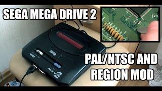 Восстановление и доработка Sega Mega Drive 2 (PAL/NTSC и Region мод)