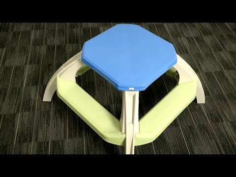 Kids picnic table from american plastic toys youtube kids picnic table from american plastic toys watchthetrailerfo