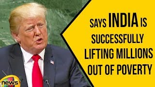 Trump Says India is A Free Society, Successfully lifting Millions out of Poverty | Trump about India
