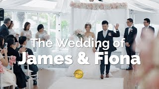 The Wedding of James & Fiona