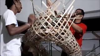 Aci Tulak Tunggul - Proses Pembuatan (Ngulat) - ST. Bandhana Yowana, Br. Delod Pempatan, Tangeb