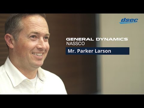 DSEC Interview with general dynamics NASSCO 2018