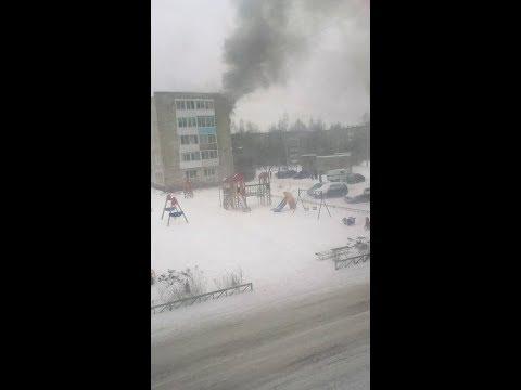 В Нижней Салде газовщики спалили квартиру. Видео № 2