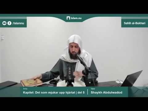 Sahih al-Bukhari | Kapitlet: Det som mjukar upp hjärtat | del 5