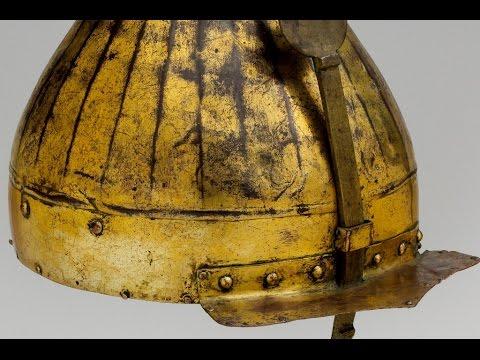 Turkish Helmet with Kayı Seal - Kayı Tamgalı Türk Miğferi
