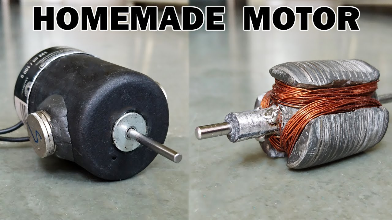 How To Make An Electric Motor At Home