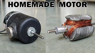 Repeat youtube video How to Make an Electric Motor at Home