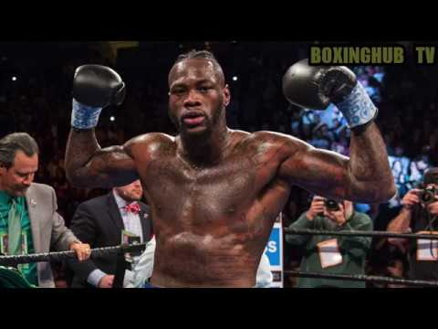 DEONTAY WILDER BLASTS EDDIE HEARN AND DEMANDS SEVEN MILLION TO FIGHT DILLIAN WHYTE!!!!